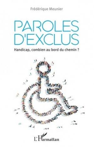 Paroles d'exclus - l'harmattan - 9782343177823