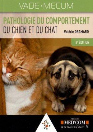 Pathologie du comportement du chien et du chat - med'com - 9782354031879 -