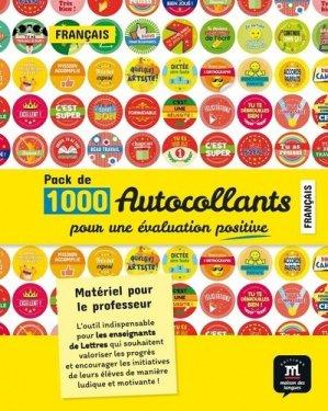 Pack d'autocollants pour l'évaluation en français - Maison des langues - 9782356856562 -