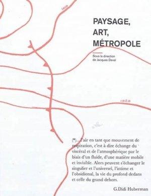 Paysage, art, métropole - Archibooks - 9782357335196 -