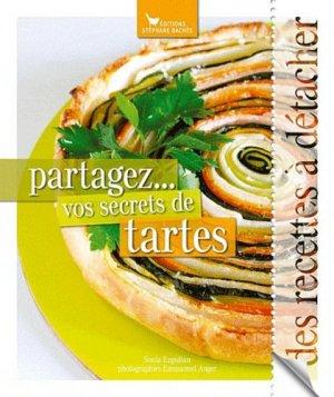 Partagez... vos secrets de tartes - les cuisinières sobbollire - 9782357520660 -