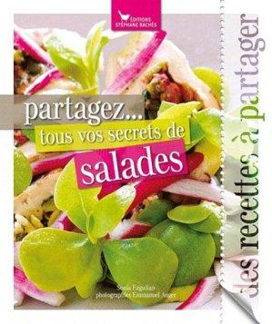 Partagez... tous vos secrets de salades - les cuisinières sobbollire - 9782357520943 -