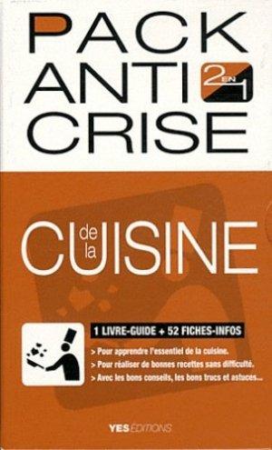 Pack anti crise de la cuisine - Yes Editions - 9782363040084 -