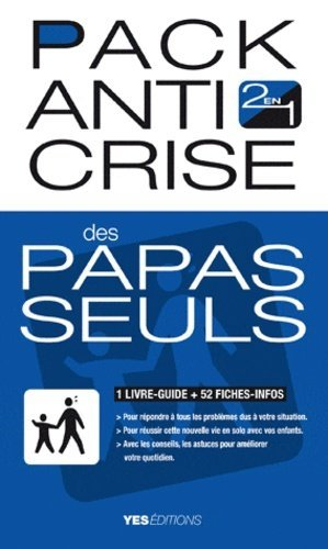 Pack anti crise des papas seuls - Yes Editions - 9782363040114 -