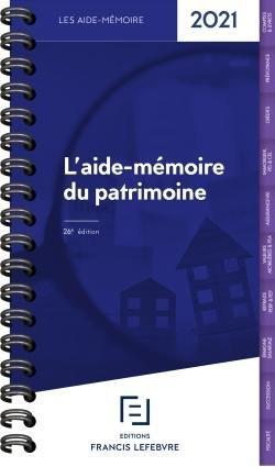 Patrimoine - Francis Lefebvre - 9782368935774 -