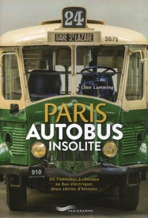 Paris autobus insolite - parigramme - 9782373951172 -