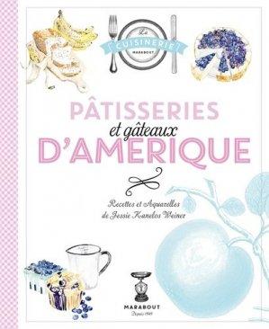 Pâtisseries et gâteaux d'Amérique - Marabout - 9782501101998 -