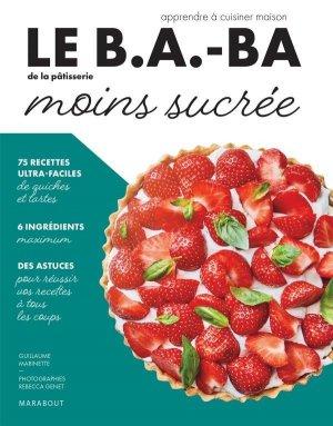 Pâtisserie moins sucrée - Marabout - 9782501149976 -
