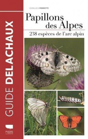 Papillons des Alpes - delachaux et niestlé - 9782603026519 -