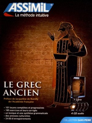 Pack CD - Le Grec Ancien - Débutants et Faux-débutants - assimil - 9782700517811 -