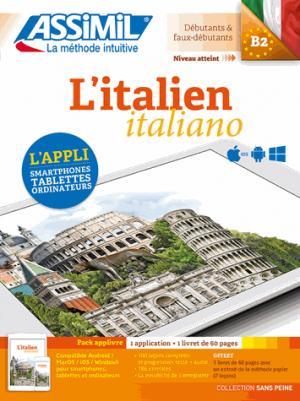 L'Italien - Méthode Assimil Pack Applivre - Débutants et Faux-débutants - assimil - 9782700564150 -