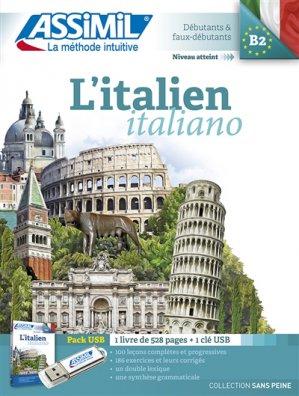 L'Italien - Méthode Assimil Pack USB - Débutants et Faux-débutants - assimil - 9782700570854 -