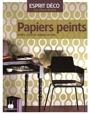 Papiers peints - massin - 9782707206480 -