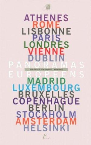 Panoramas européens - Editions AandJ Picard - 9782708406049 -