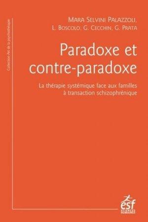 Paradoxe et contre-paradoxe - esf - 9782710133889 -