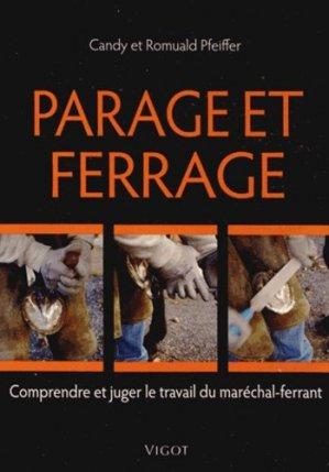 Parage et ferrage - vigot - 9782711422678 -
