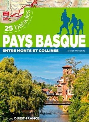 Pays basque : entre monts et collines : 25 balades - ouest-france - 9782737376580 -