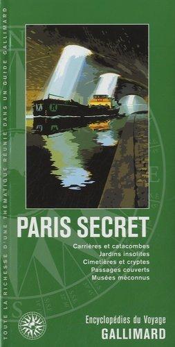 Paris secret - gallimard - 9782742433612 -