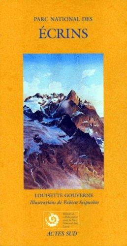 Parc national des Écrins - actes sud - 9782742717569 -