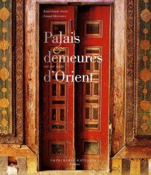 Palais et demeures d'orient - actes sud - 9782742784738 -