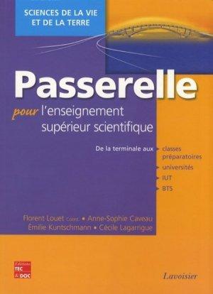 Passerelle pour l'enseignement supérieur scientifique Sciences de la Vie et de la Terre - lavoisier / tec et doc - 9782743010522 -