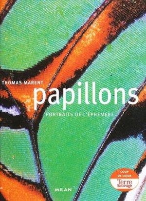 Papillons Portraits de l'éphémère - milan - 9782745935595 -