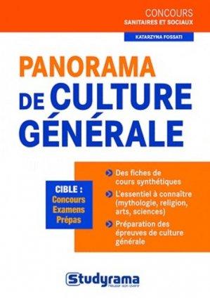 Panorama de culture générale - studyrama - 9782759014293 -