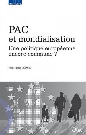 PAC et mondialisation - quae - 9782759228096 -