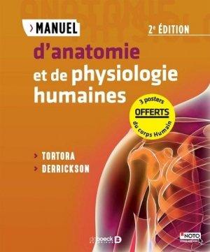 Pack d'anatomie Tortora-de boeck superieur-9782807316195