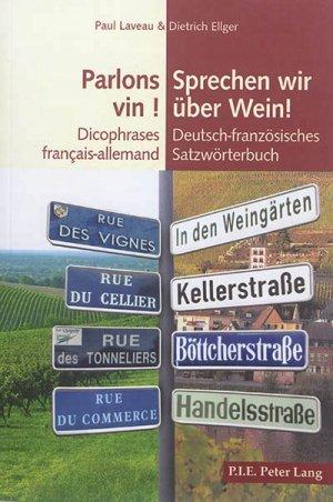 Parlons vin ! - peter lang - 9782807603189 -
