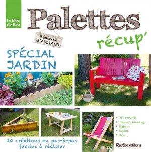 Palettes récup' - rustica - 9782815309288 -