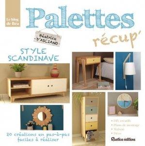Palettes récup' style scandinave - rustica - 9782815310673 -