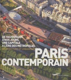 Paris contemporain. De Haussmann à nos jours, une capitale à l'ère des métropoles; Architecture et urbanisme - Parigramme - 9782840966821 - https://fr.calameo.com/read/005884018512581343cc0
