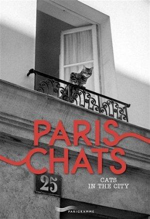 Paris chats - Parigramme - 9782840968788 -