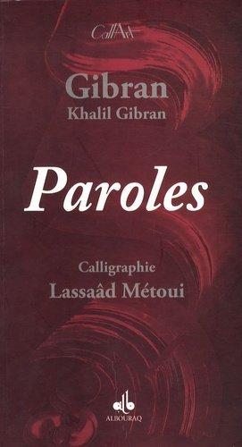 Paroles. Edition bilingue Arabe-Français - Editions Albouraq - 9782841613755 -