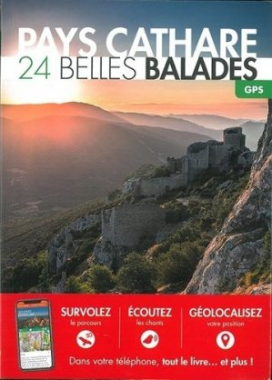Pays cathare : 25 belles balades - belles balades - 9782846404532 -