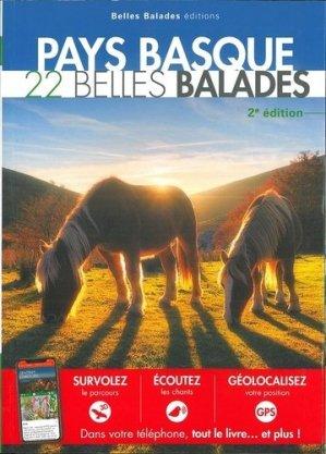 Pays Basque : 22 belles balades - dakota - 9782846404839 -
