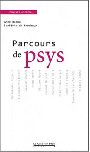 Parcours de psy - le cavalier bleu - 9782846703987 -