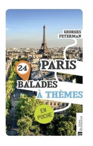 Paris / 24 balades à thèmes en poche - christine bonneton - 9782862537283 -