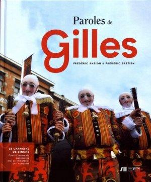 Paroles de Gilles - luc pire - 9782875421739 -