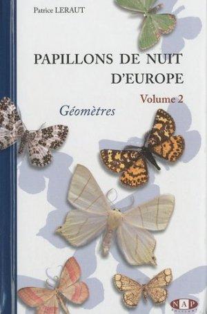 Papillons de nuit d'Europe Volume 2 - nap - 9782913688087