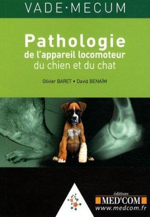 Pathologie de l'appareil locomoteur du chien et du chat - med'com - 9782914738835 -