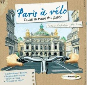 Paris à vélo - passiflore - 9782918471172 -