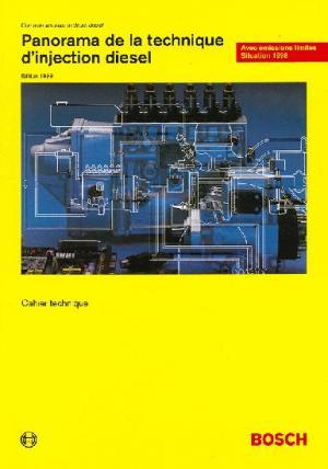 Panorama de la technique d'injection diesel - bosch - 9783934584013 -