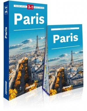 Paris. Guide + Atlas + Carte - Express Map - 9788381901932 -