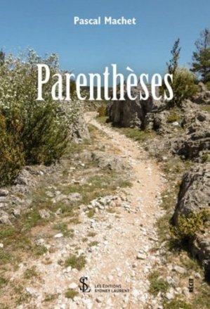 Parenthèses - sydney laurent - 9791032636978 -
