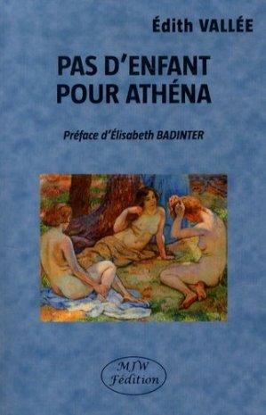 Pas d'enfant pour Athéna - mjw  - 9791090590144 -