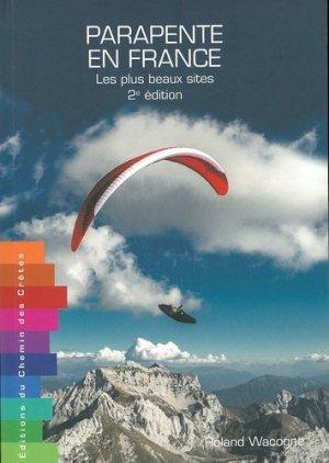 Parapente en France - Editions du Chemin des Crêtes - 9791095743187 -