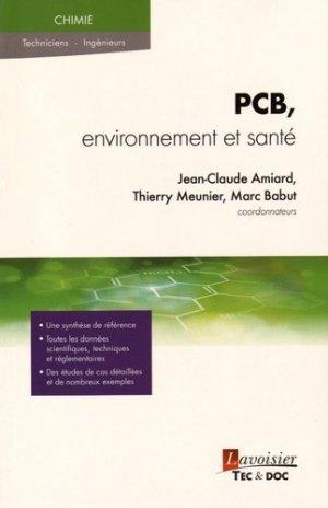 PCB, environnement et santé - lavoisier / tec et doc - 9782743020057 -