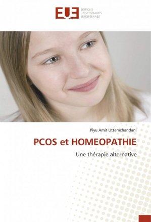 PCOS et homéopathie - editions universitaires europeennes - 9786139537662 -